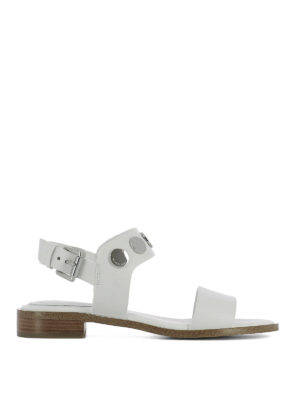 Michael Kors: sandals - Reggie stud embellished sandals