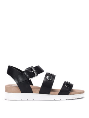 Michael Kors: sandals - Studded leather sandals
