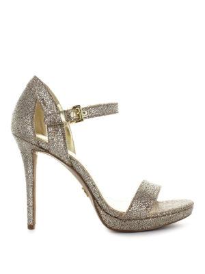 MICHAEL KORS: sandali - Sandali Tamra con tacco a stiletto