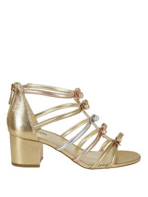 MICHAEL KORS: sandali - Sandali Veronica Mid con fiocchetti
