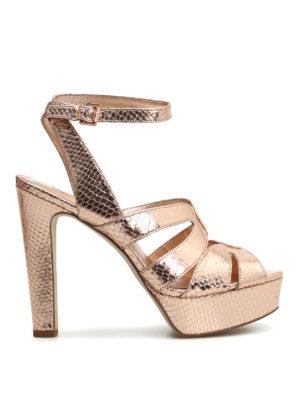 Michael Kors: sandals - Winona suede sandals