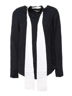 Michael Kors: shirts - Neck-tie silk shirt
