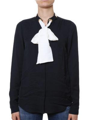 Michael Kors: shirts online - Neck-tie silk shirt