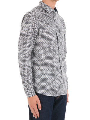 Michael Kors: shirts online - Patterned cotton shirt