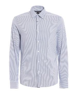 Michael Kors: shirts - Patterned super stretch shirt
