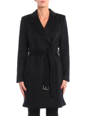Michael Kors: short coats online - Wool blend double-breasted coat