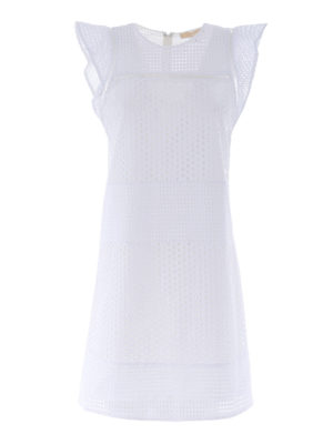 Michael Kors: short dresses - Broderie anglaise short dress