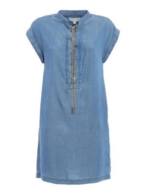 Michael Kors: short dresses - Chain detail chambray dress