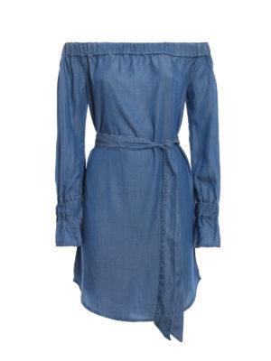 Michael Kors: short dresses - Chambray off-shoulder dress