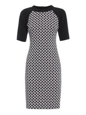 Michael Kors: short dresses - Geometric print matte jersey dress