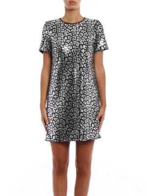 Michael Kors: short dresses online - Animal print sequined dress