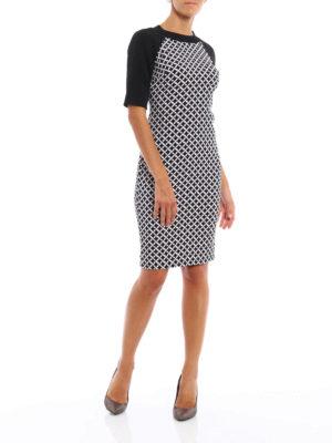 Michael Kors: short dresses online - Geometric print matte jersey dress