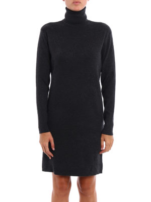 Michael Kors: short dresses online - Knitted turtle neck dress