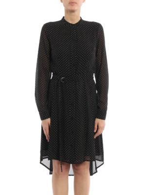Michael Kors: short dresses online - Polka dot shirt dress