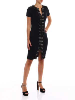 Michael Kors: short dresses online - Stud detail jersey pencil dress