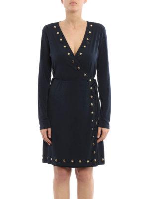 Michael Kors: short dresses online - Wrapped short dress