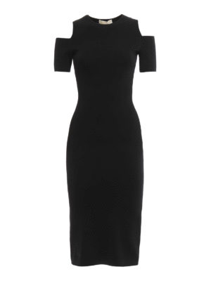Michael Kors: short dresses - Peekaboo ponte short dress