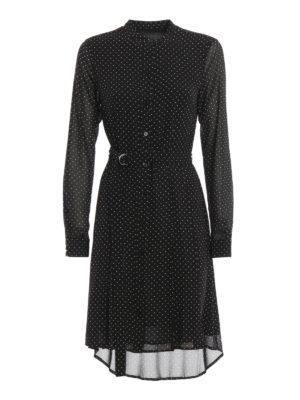 Michael Kors: short dresses - Polka dot shirt dress