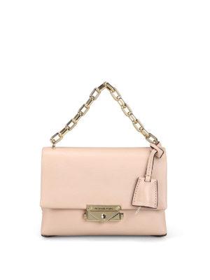 326d4bb1ecac MICHAEL KORS: borse a spalla - Borsa Cece XS in pelle liscia rosa chiaro