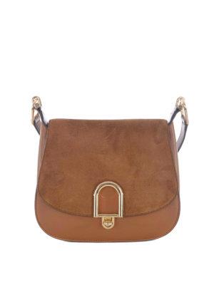 Michael Kors: shoulder bags - Delfina acorn large shoulder bag
