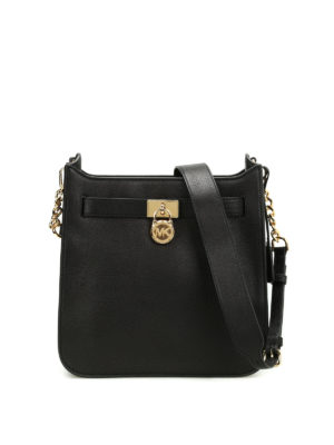 Michael Kors: shoulder bags - Hamilton leather shoulder bag