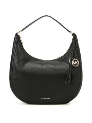 Michael Kors: shoulder bags - Lydia hammered leather hobo bag