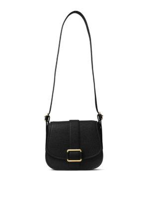 Michael Kors: shoulder bags - Maxine leather large saddlebag