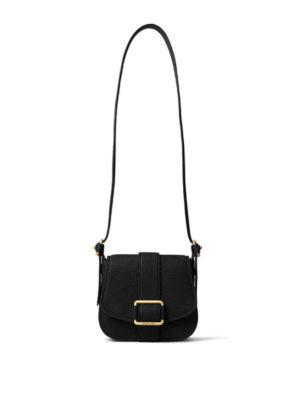 Michael Kors: shoulder bags - Maxine leather medium saddlebag