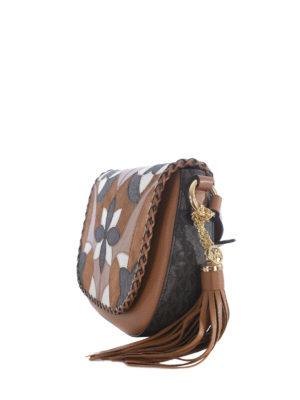 Michael Kors: shoulder bags online - Brooklyn patterned flap leather bag