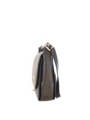 Michael Kors: shoulder bags online - Delfina olive large shoulder bag