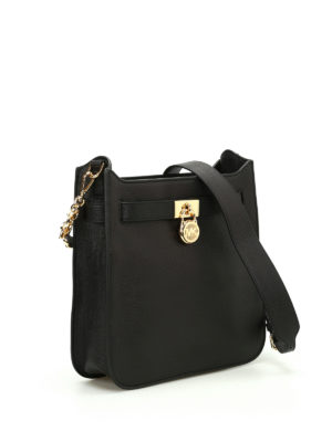 Michael Kors: shoulder bags online - Hamilton leather shoulder bag