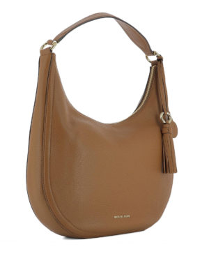Michael Kors: shoulder bags online - Lydia hammered leather shoulder bag