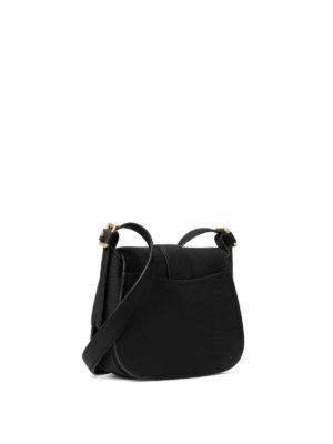 Michael Kors: shoulder bags online - Maxine leather large saddlebag