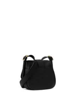Michael Kors: shoulder bags online - Maxine leather medium saddlebag