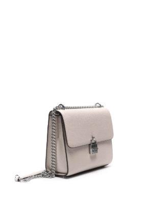 Michael Kors: shoulder bags online - Mercer hammered leather bag