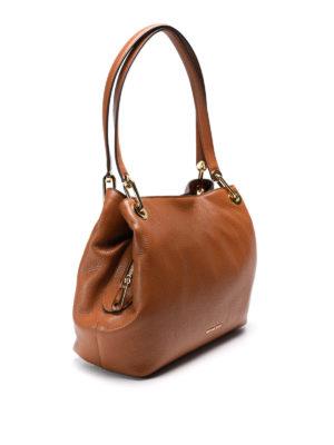 Michael Kors: shoulder bags online - Raven hammered leather bag