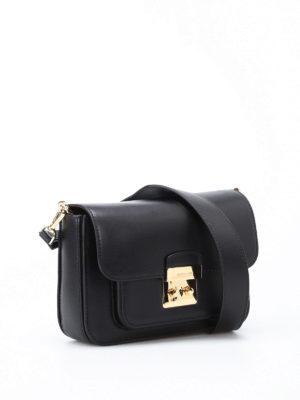 Michael Kors: shoulder bags online - Sloan Editor L black leather bag