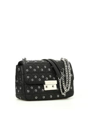 Michael Kors: shoulder bags online - Sloan embellished quilted satchel