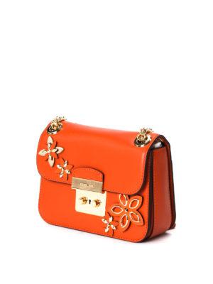 Michael Kors: shoulder bags online - Sloan flower appliqué small bag