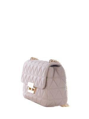 Michael Kors: shoulder bags online - Sloan large pink shoulder bag