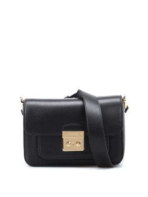 Michael Kors: shoulder bags - Sloan Editor L black leather bag