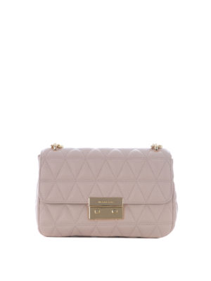 Michael Kors: shoulder bags - Sloan large pink shoulder bag