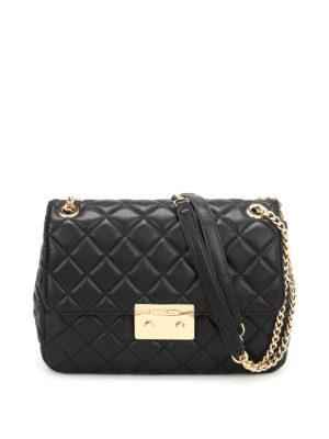 Michael Kors: shoulder bags - Sloan quilted leather bag