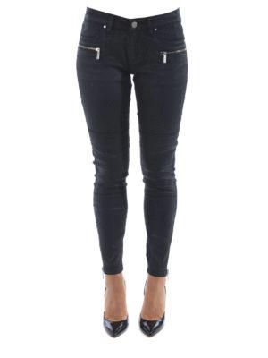 Michael Kors: skinny jeans online - Coated denim stretch jeans