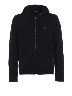 Michael Kors: Sweatshirts & Sweaters - Cotton blend zipped hoodie