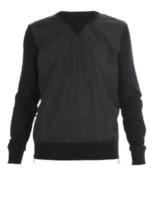 Michael Kors: Sweatshirts & Sweaters - Nylon panelled sweatshirt