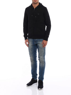 Michael Kors: Sweatshirts & Sweaters online - Cotton blend zipped hoodie