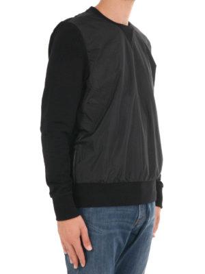 Michael Kors: Sweatshirts & Sweaters online - Nylon panelled sweatshirt