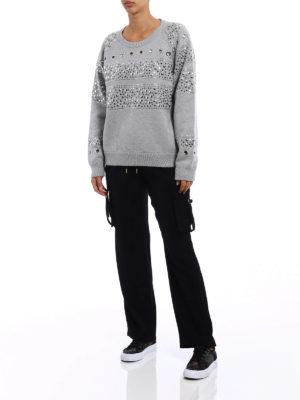 Michael Kors: Sweatshirts & Sweaters online - Studded heavy sweatshirt