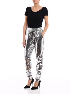 Michael Kors: Tailored & Formal trousers online - Sequin pull-on trousers